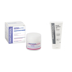 Panthenol Extra Face & Eye Cream + Extra Face Cleansing Gel