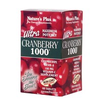 NATURES PLUS ULTRA CRANBERRY 1000MG 60TABL