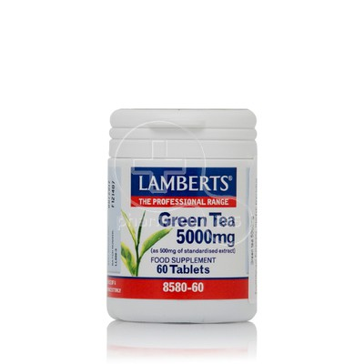 LAMBERTS - Green Tea 5000mg - 60tabs