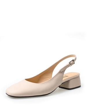 SLING BACK PUMP, LOW HEEL - ANASTAZI BOURNAZOS