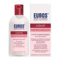 EUBOS LIQUID WASHING EMULSION RED 200ML