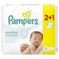 PAMPERS BABY WIPES SENSITIVE 56ΤΕΜ (PROMO 2+1)