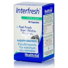 Health Aid INTERFRESH - Δροσερή Αναπνοή, 60caps