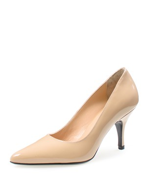 PUMP POINTY, MEDIUM HEEL - ANASTAZI BOURNAZOS