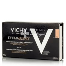 Vichy Dermablend FDT Compact Cream SPF30 (45 Gold) - Make up υψηλη κάλυψη, 9.5gr