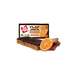 Fit Spo Μπάρα Βρώμης Flapjack Choco Chip-Orange 100gr