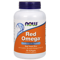 NOW RED OMEGA (RED YEAST RICE)  90 SOFTGELS