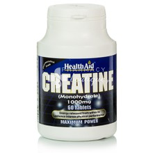 Health Aid CREATINE 1000mg - Κρεατίνη, 60tabs