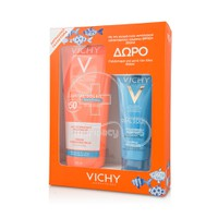 VICHY - PROMO PACK CAPITAL SOLEIL Lait SPF50+ - 300ml ΜΕ ΔΩΡΟ Lait Apaisant Apres Soleil - 100ml