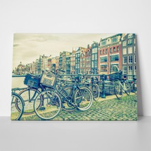 Amsterdam canal and bicycles 368538425 a