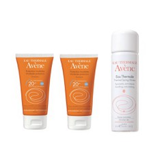 Πακέτο Avene Emulsion SPF20 2x50ml + Δώρο Avene Eau Thermale Spring Water 50ml