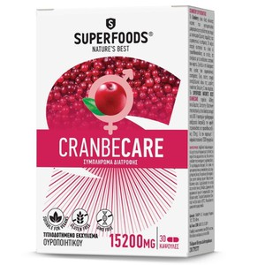 Superfoods cranbecare 15200mg