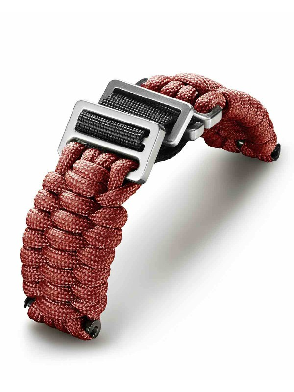 VICTORINOX  Red Fabric Strap For Cases 43mm