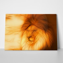 Lion art with abstract lines 263816339 a