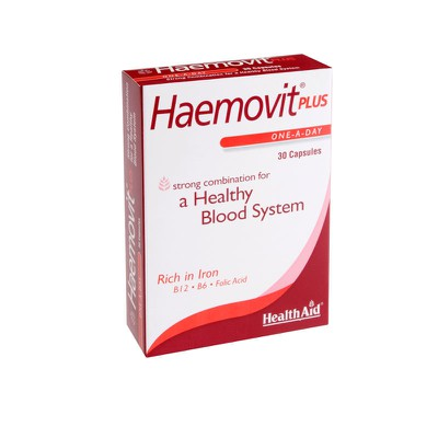 Health Aid - Haemovit Plus - 30caps