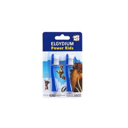 Elgydium Power Kids Spare Parts Blue 2 picies
