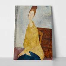Le sweater jaune modigliani a