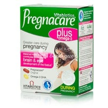 Vitabiotics Pregnacare Plus - Εγκυμοσύνη, 28tabs/28caps