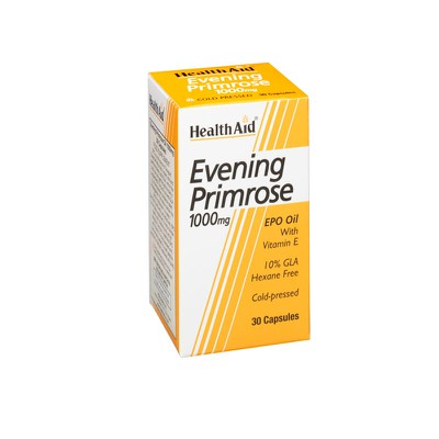 Health Aid - Evening Primrose Oil 1000 mg + Vitamin E - 30caps