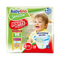 BABYLINO - SENSITIVE Pants Unisex Maxi No4 (7-13kg) - 28τεμ.