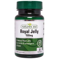 NATURES AID ROYAL JELLY 150MG 30SOFTGELS