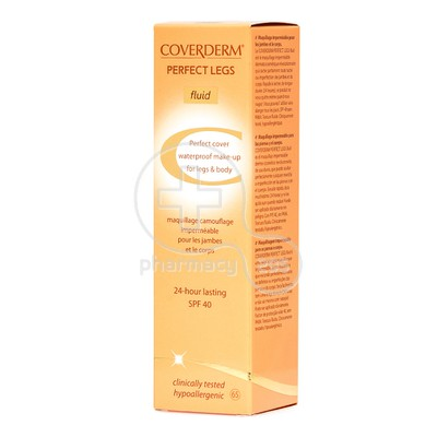 COVERDERM - PERFECT LEGS Fluid SPF40 (No65) - 75ml