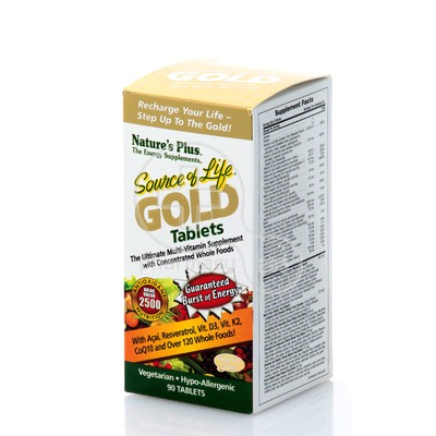 NATURE'S PLUS - SOURCE OF LIFE Gold - 90tabs