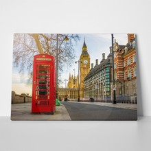 Old red telephone box 625919765 a