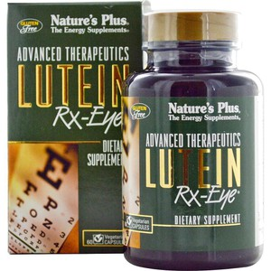Nature s plus lutein rx eye