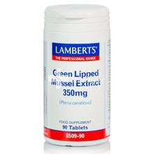 Lamberts Green Lipped Mussel Extr. (Seatone) 350mg - Αρθρίτιδα, 90tabs