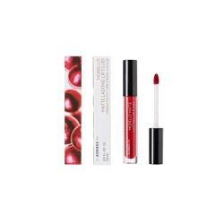 Korres Morello Matte Lasting Lip Fluid 59 Brick Red Υγρό Κραγιόν 3.4ml