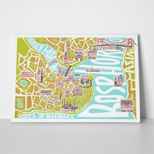 Illustration istanbul map 338735810 a
