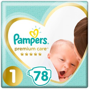 PAMPERS Premium care N1 2-5kg 78τεμάχια