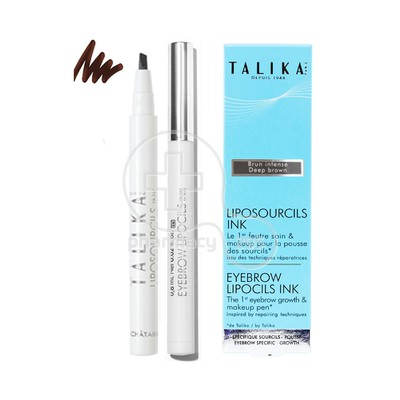 TALIKA - LIPOSOURCILS INK Brun Intense - 0,8ml