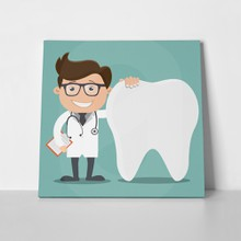 Dentist and tooth 521654824 a