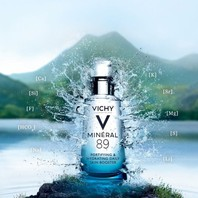 Mineral 89 hyaluronic acid moisturizer homepage banner vichy