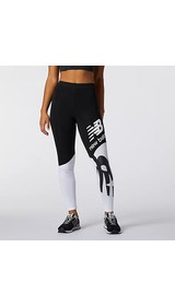 New Balance Women Athletics Splice Graphic Legging