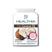 HEALTHIA COCONUT OIL 1000MG 60CAPS
