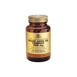 Solgar Shark Liver Oil Complex 500mg 60 softgels