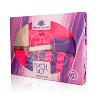 BALMY NATUREL - BATH SET with Lavender Massage Soap