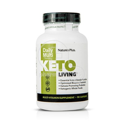 NATURES PLUS - KETOLIVING Daily Multi - 90caps