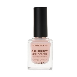 KORRES Gel effect nail colour N04 peony pink 11ml