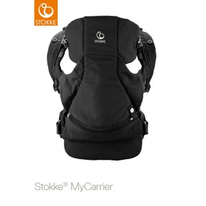 Μάρσιπος My Carrier Front & Back Black