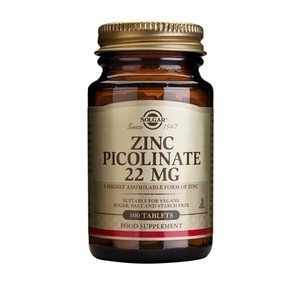 Solgar zinc picolinate 22mg