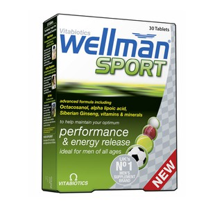 VITABIOTICS Wellman sport energy release 30tablets