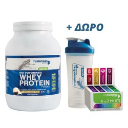 My Elements High Performance Whey Protein Delicious Vanilla 900gr + ΔΩΡΟ MyElements Shaker & MyElements Multivitamin A to Z 30 caps