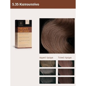 Apivita nature s hair color 5.35