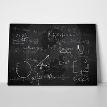Physical formulas chalkboard 472690438 a