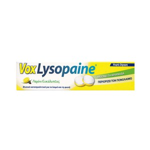 Vox lysopaine 18 pieces