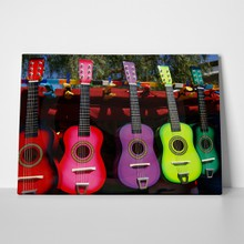 Colorfull guitars